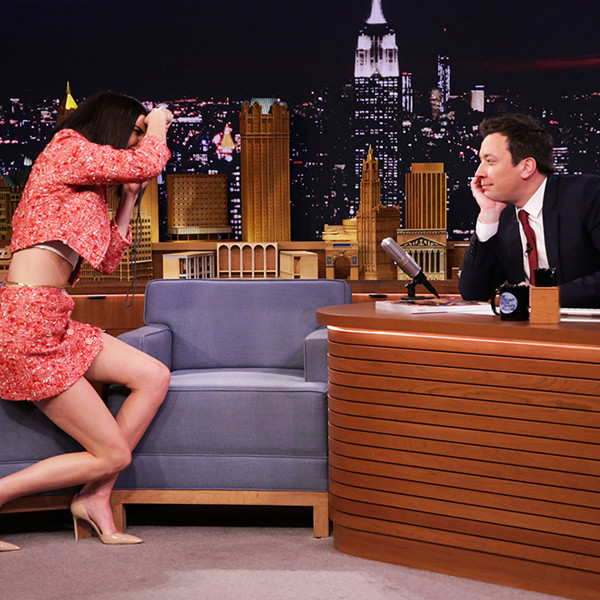 Kendall Jenner, Jimmy Fallon, The Tonight Show