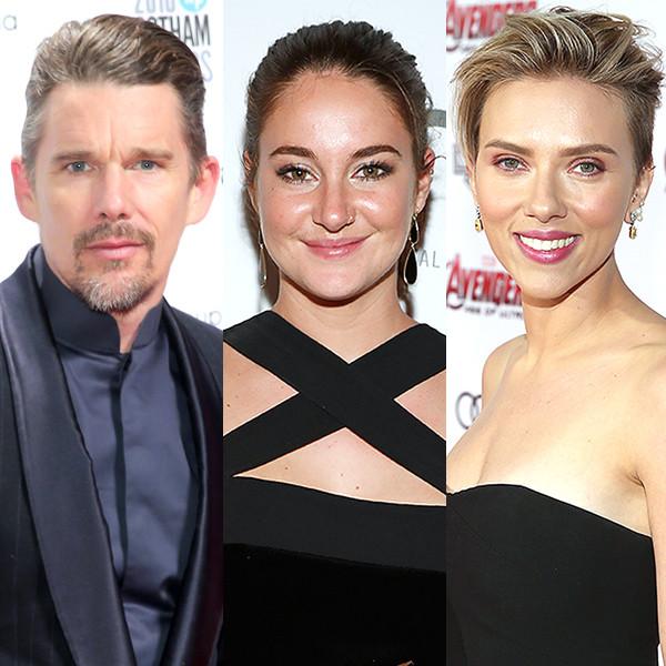 Ethan Hawke, Shailene Woodley, Scarlett Johansson