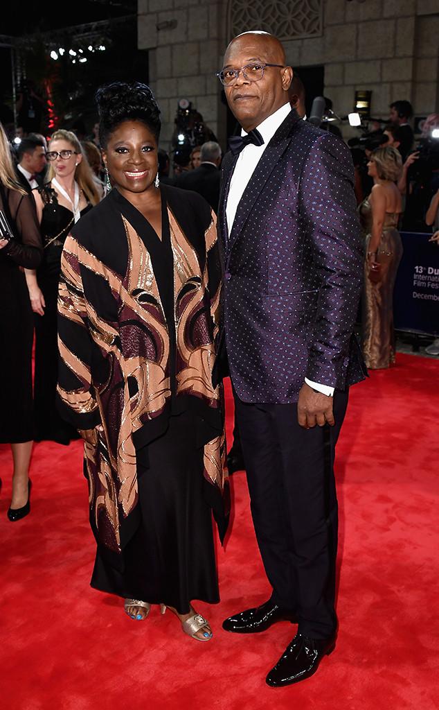LaTanya Richardson, Samuel L Jackson, Long Term Couples