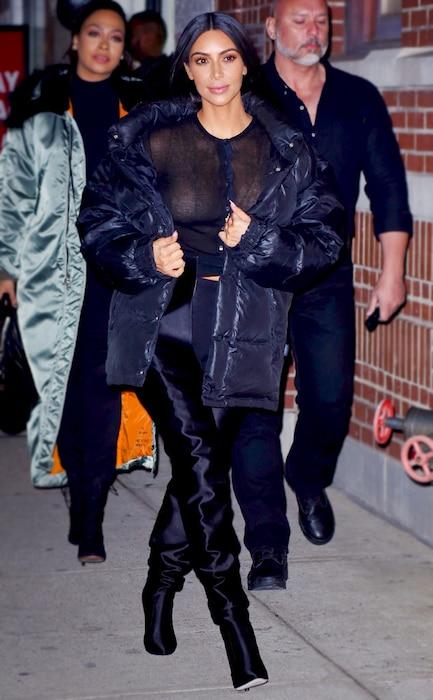 ESC: Kim Kardashian, NYFW
