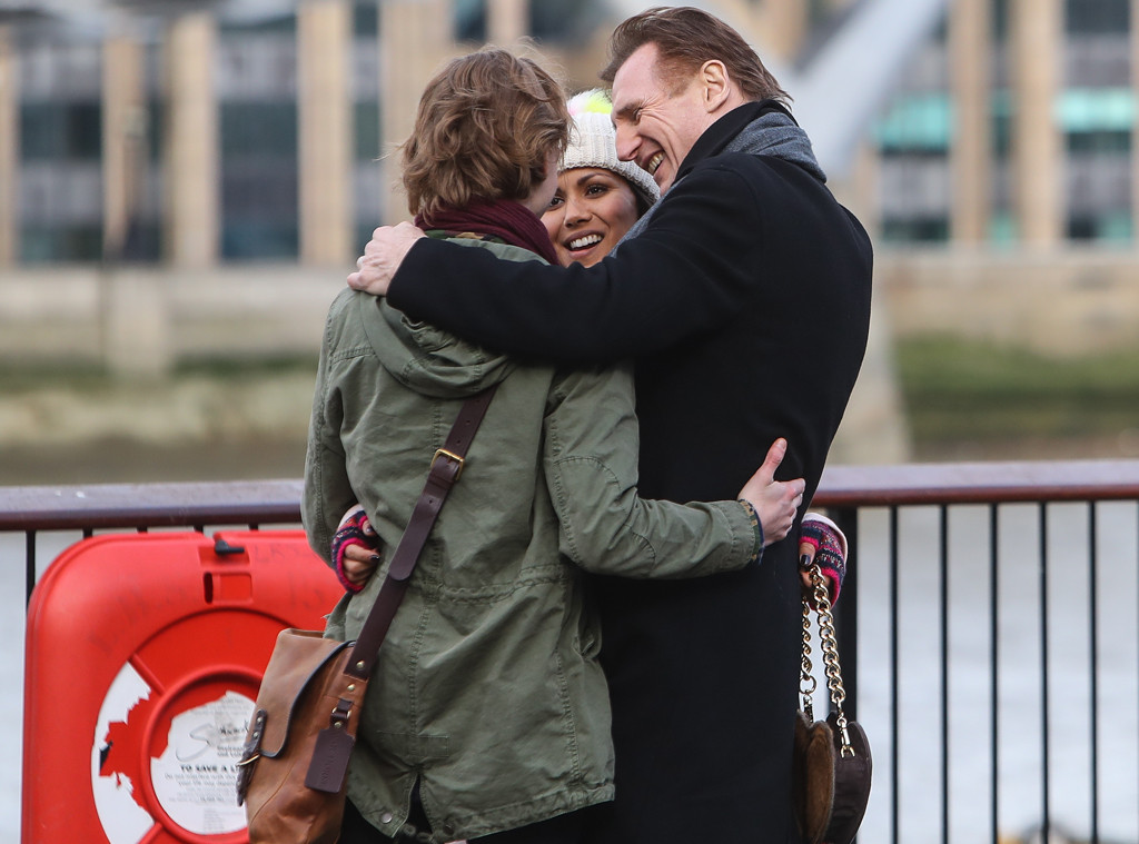 Liam Neeson, Thomas Brodie Sangster, Olivia Olsen
