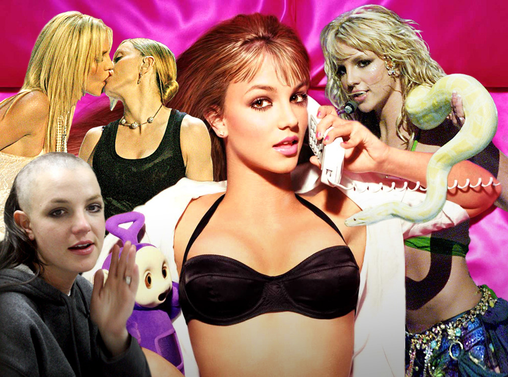Britney Spears, Shocking Moments