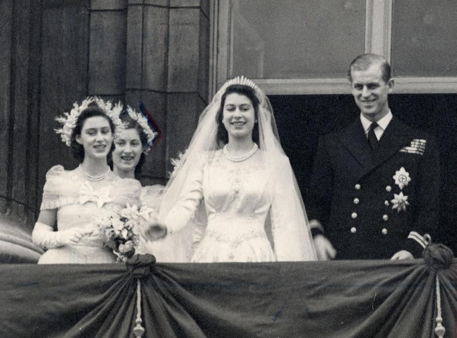 Princess Margaret, Lady Mary Cambridge, Queen Elizabeth, Philip Duke of Edinburgh