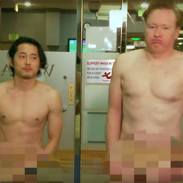 Steven Yeun, Conan O'Brien, Spa
