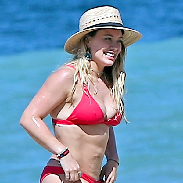 Hilary Duff's Swimsuit Style