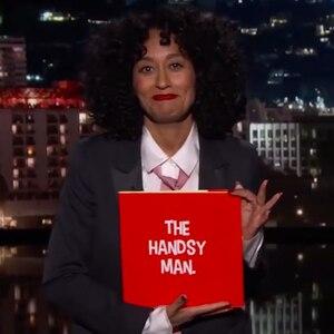 Tracee Ellis Ross, Jimmy Kimmel Live