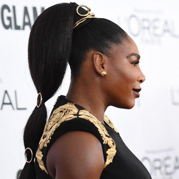 E!ssentials: How to Recreate Serena William's Regal Ponytail