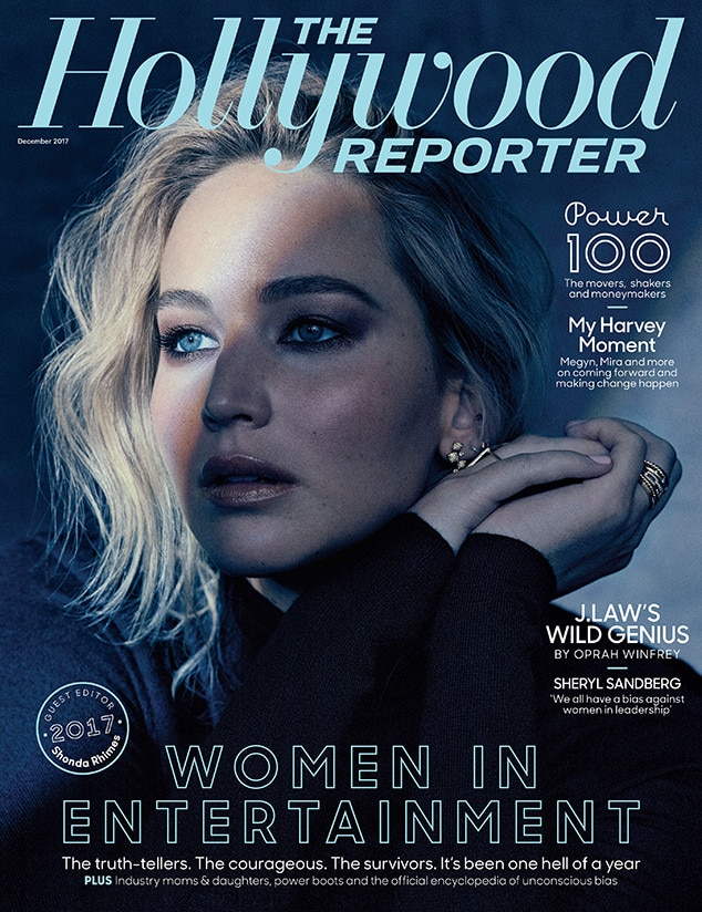 Jennifer Lawrence, The Hollywood Reporter