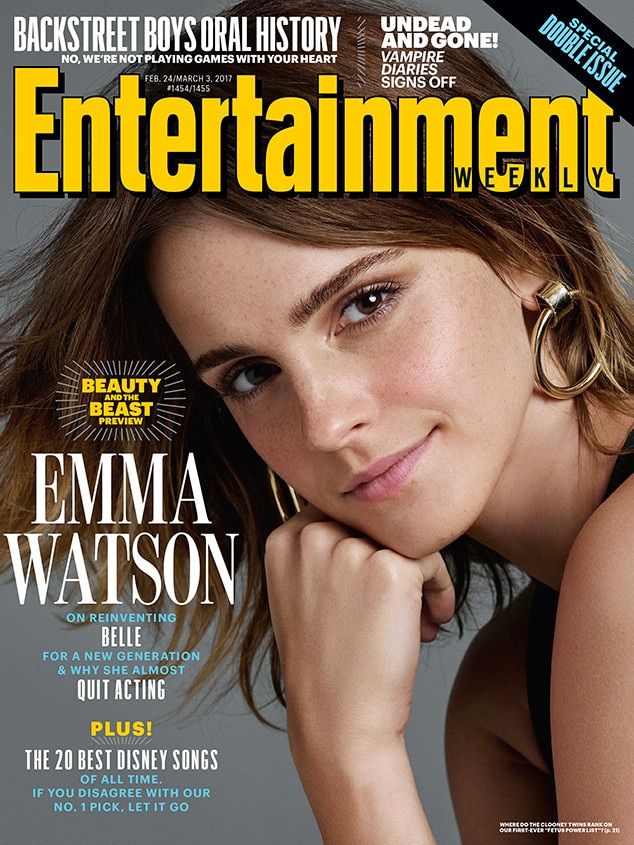 Emma Watson, Entertainment Weekly