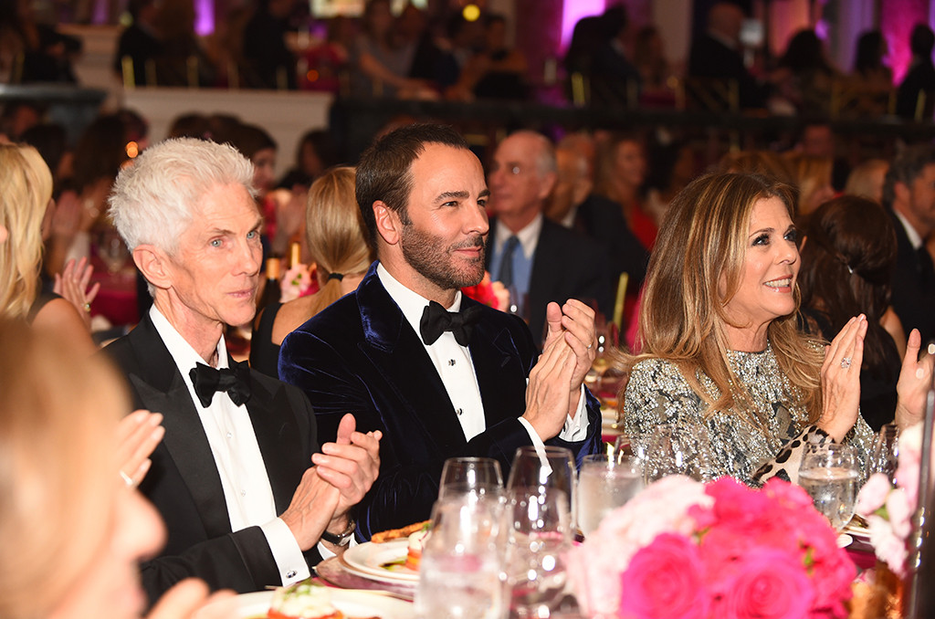Richard Buckley, Tom Ford, Rita Wilson