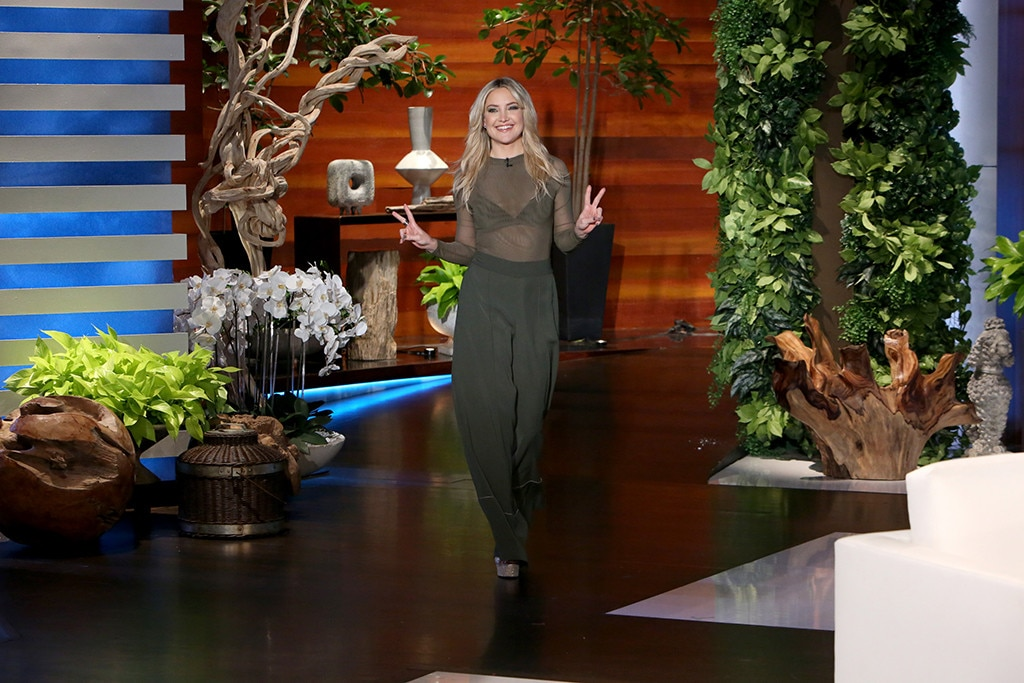 Kate Hudson, The Ellen DeGeneres Show