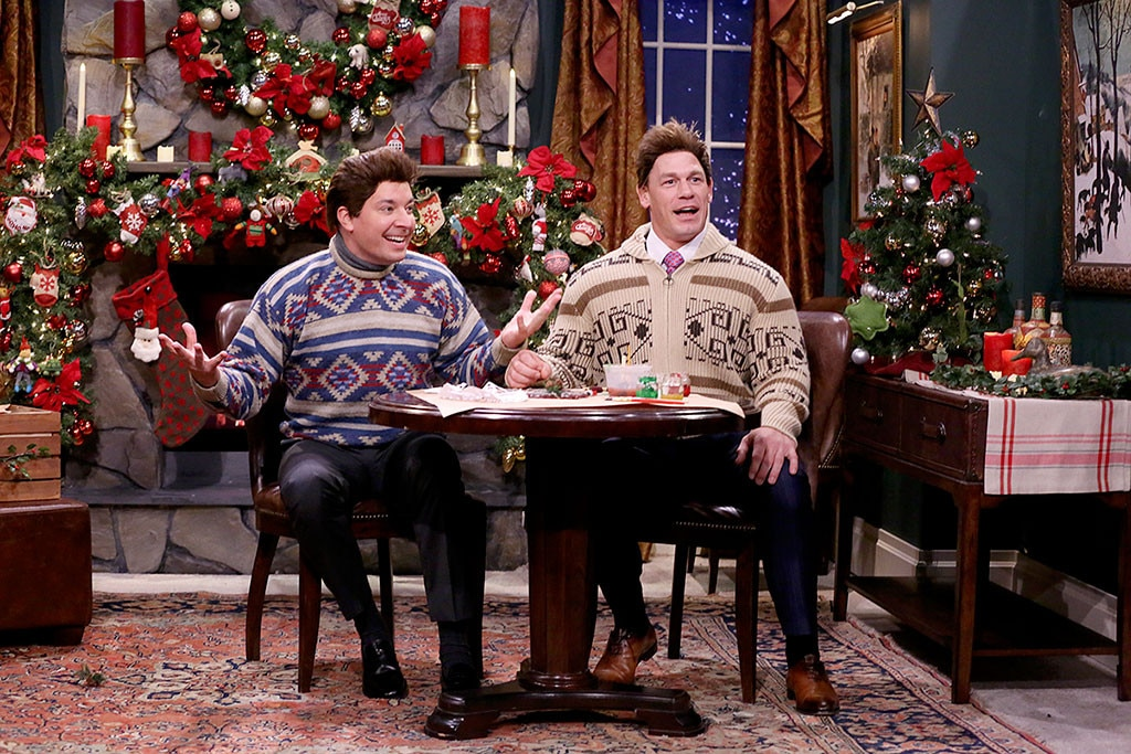John Cena, Jimmy Fallon, The Tonight Show