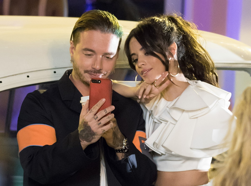 Oscars 2017 fashion - Camila Cabello Amp J Balvin From The Big Picture Today S