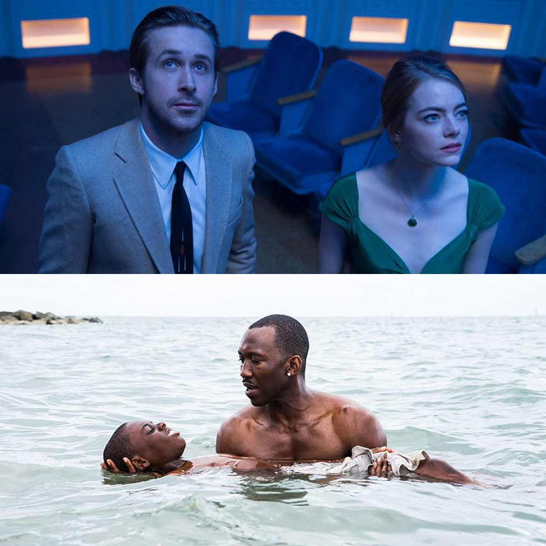 Golden Globes Best Picture, 2016, Moonlight, La La Land