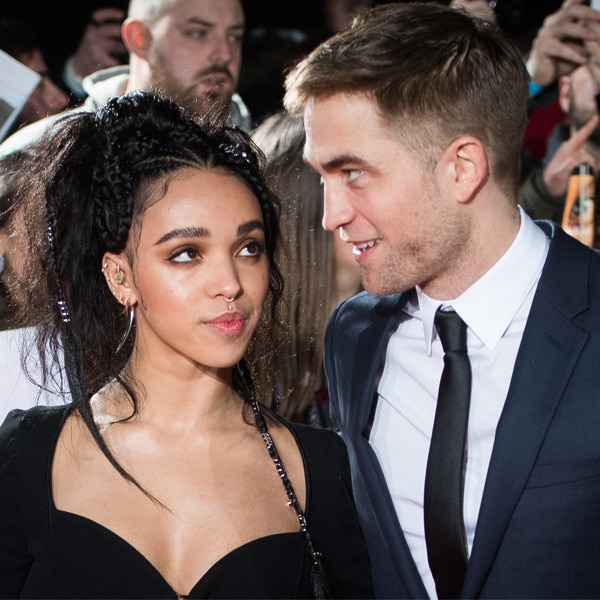 Robert Pattinson Tells Howard Stern He's 'Kind Of' Engaged to FKA Twigs
