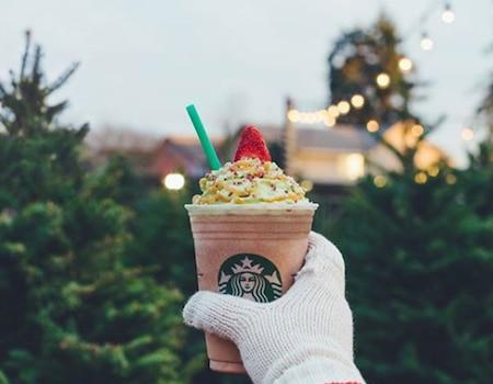 Starbucks' Christmas Tree Frappuccino Sparks Social Media Frenzy