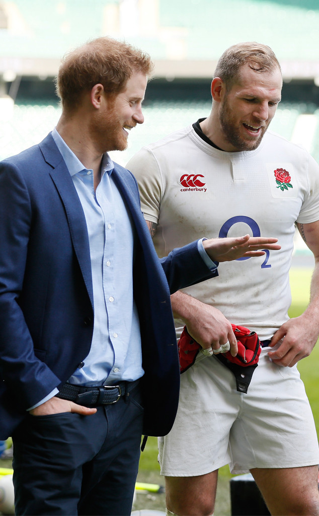 Prince Harry, Rugby Player