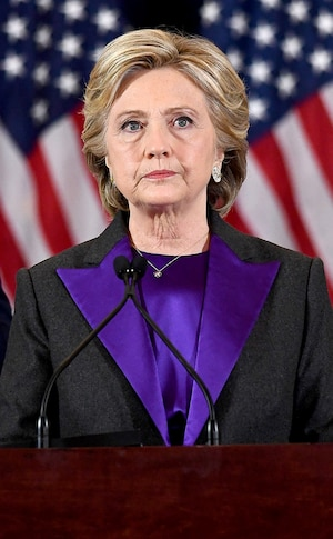 Hillary Clinton, Pantone Color of the Year 2018, Ultra Violet