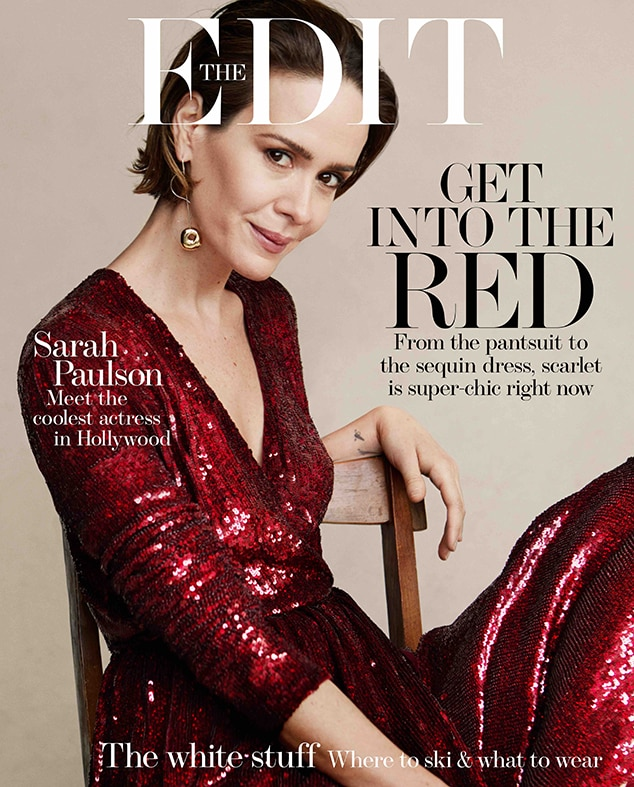Awwww - Sarah Paulson Is Proud Of Her 'Unconventional' Romance With Holland Taylor!