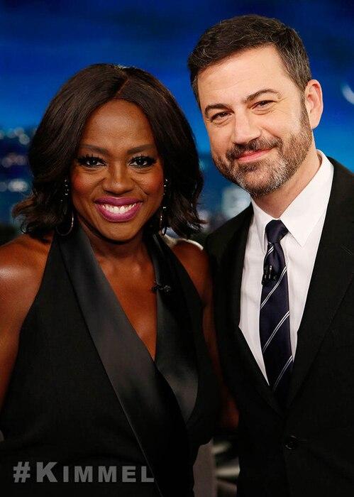 Viola Davis, Jimmy Kimmel, Jimmy Kimmel Live