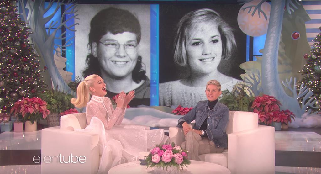 Gwen Stefani, Blake Shelton, Ellen DeGeneres, Yearbook Photos