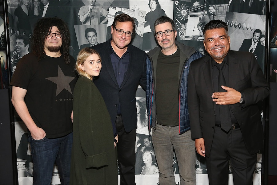 Adam Duritz, Ashley Olsen, Bob Saget, John Oliver, George Lopez