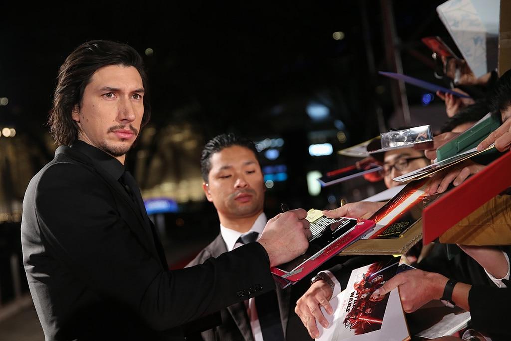 Adam Driver, Star Wars: The Last Jedi, Tokyo, Japan, Premiere