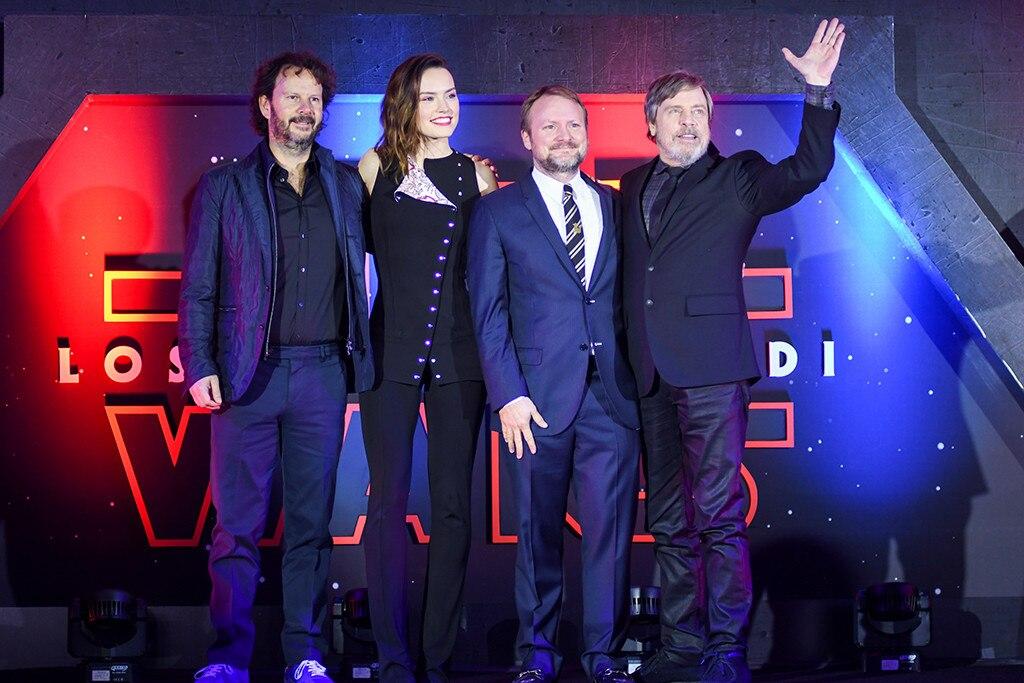 Ram Bergman, Daisy Ridley, Rian Johnson, Mark Hamill, Star Wars: The Last Jedi, Mexico, Fan Event