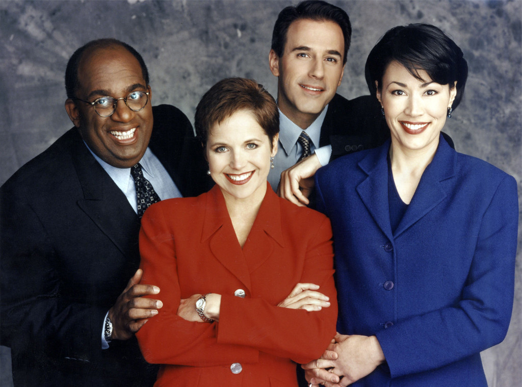 Al Roker, Katie Couric, Matt Lauer, Ann Curry, Today, 1997