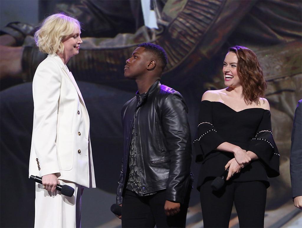 Daisy Ridley, John Boyega, Gwendoline Christie, D23 Expo 2017