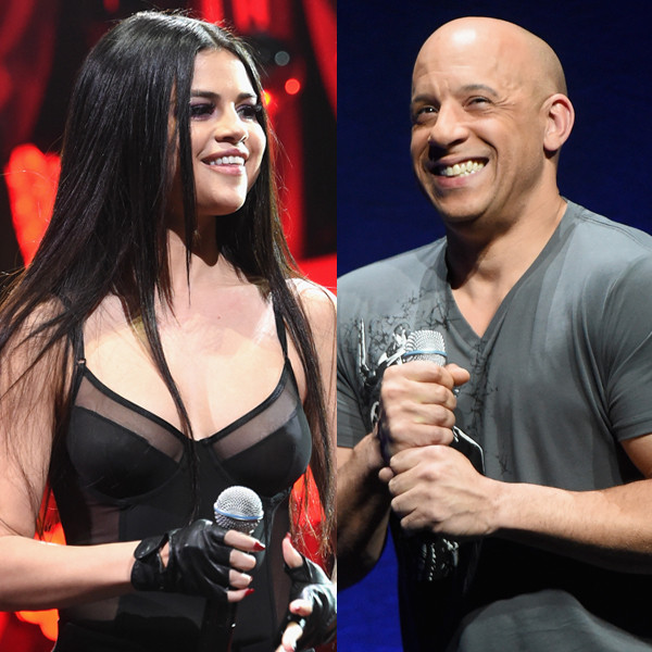 Selena Gomez, Vin Diesel
