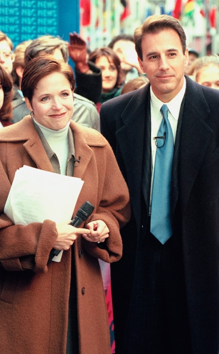 Matt Lauer, Katie Couric, The Today Show, 1997