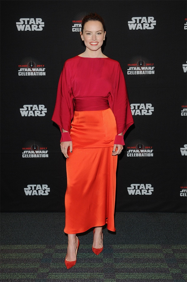 Daisy Ridley, Star Wars Celebration Orlando 2017