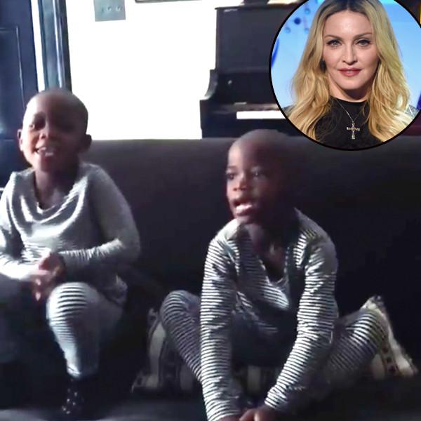 Madonna, Twins, Esther, Stella