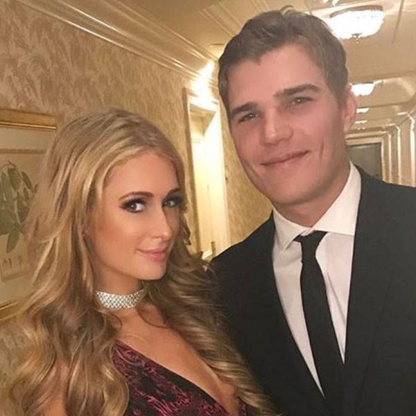Paris Hilton, Chris Zylka, Twitter