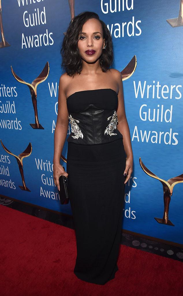 Kerry Washington, 2017 Writers Guild Awards