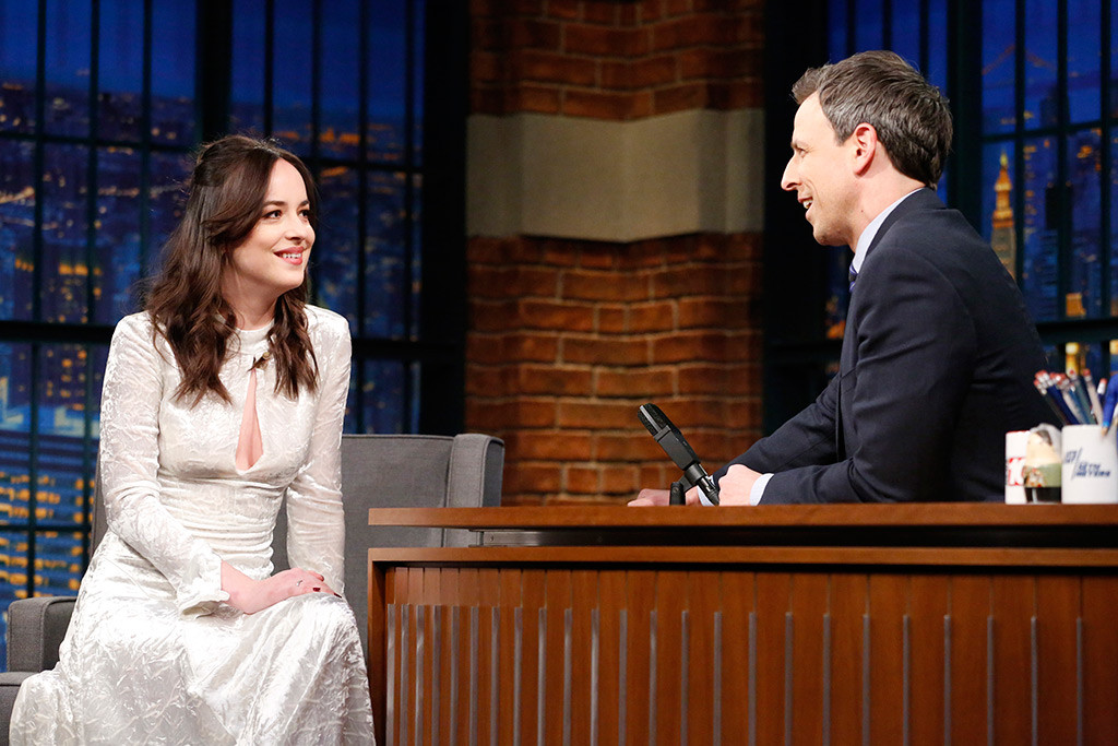 Dakota Johnson, Late Night With Seth Meyers