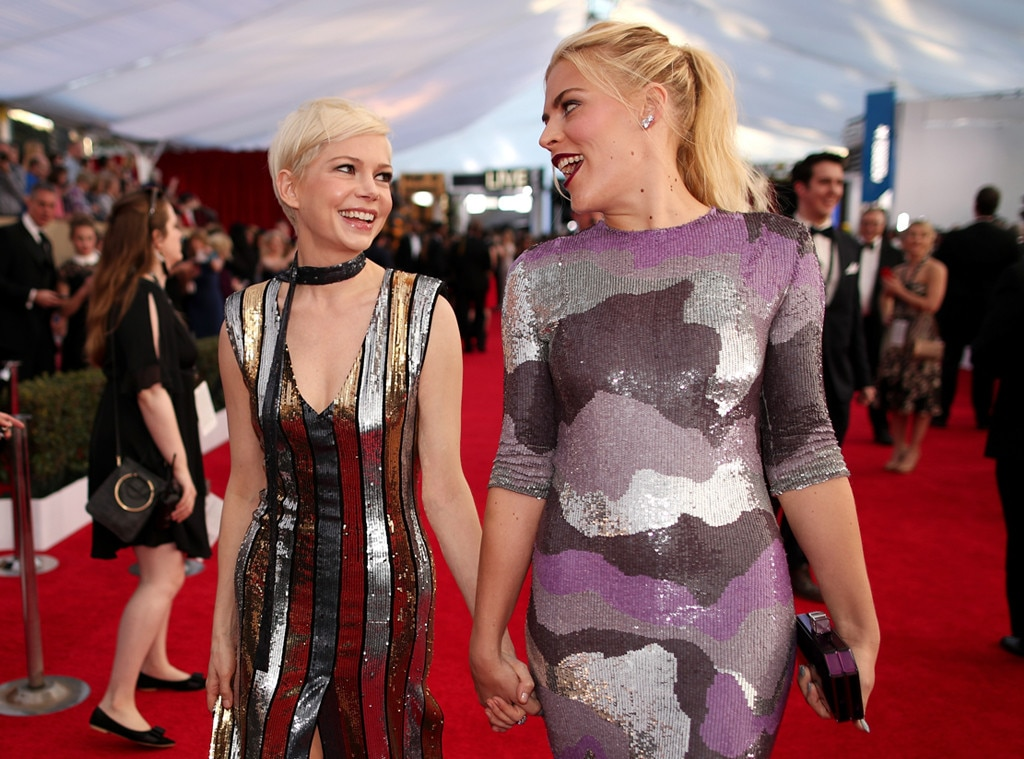 ESC: Michelle Williams, Busy Philipps
