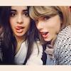 Camila Cabello, Taylor Swift