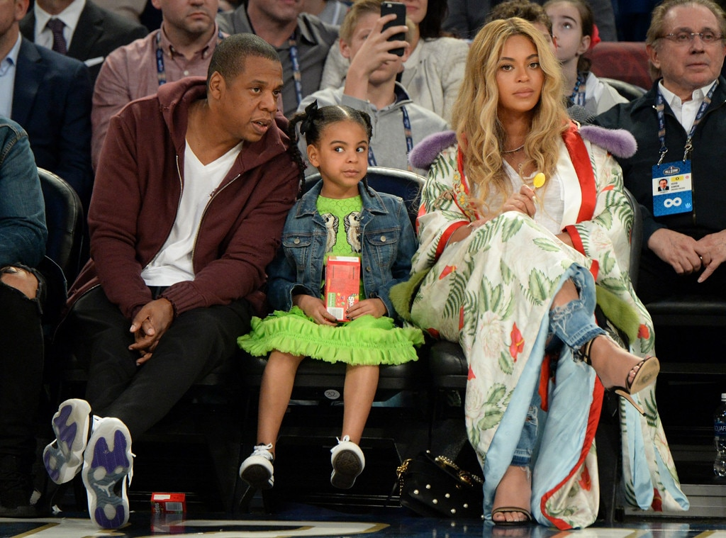 Jay Z Blue Ivy Carter Amp Beyonce Knowles From The Big