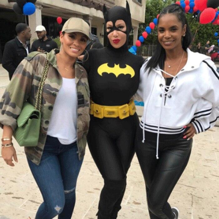 Evelyn Lozada, Amber Rose, Kim Porter