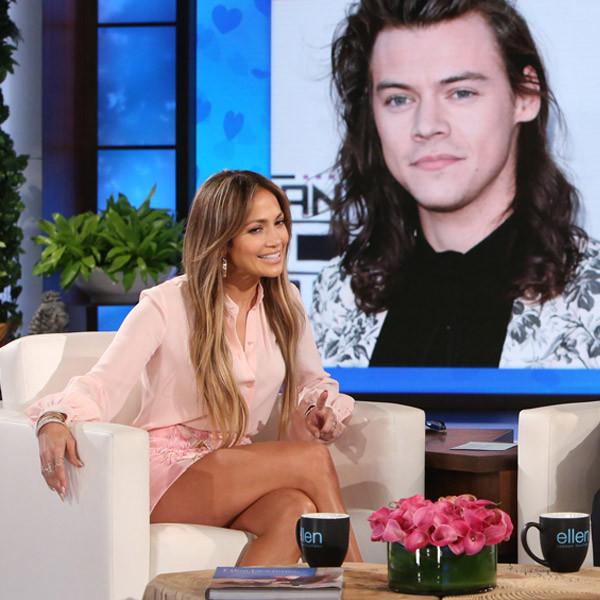 Jennifer Lopez, Harry Styles, Ellen DeGeneres