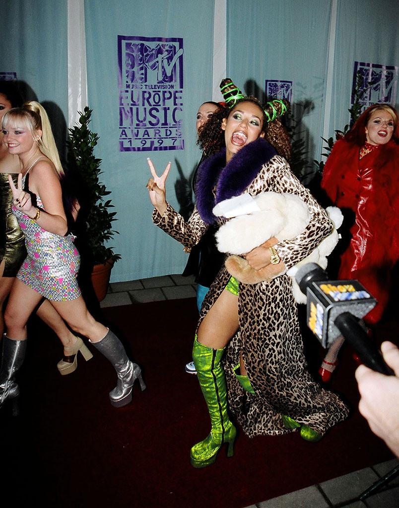Mel B, Emma Bunton, Geri Halliwell, MTV Europe Music Awards