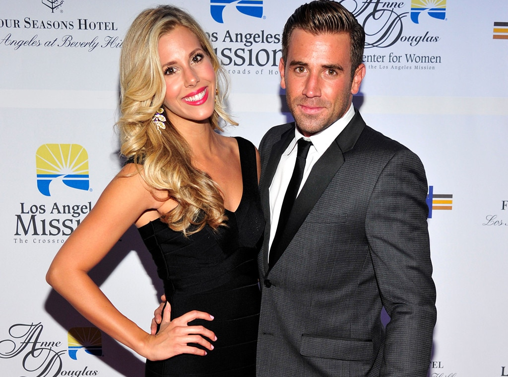 Happily married husband and wife: Jason Wahler and Ashley Slack who announced Ashley's pregnancy in February 2017
