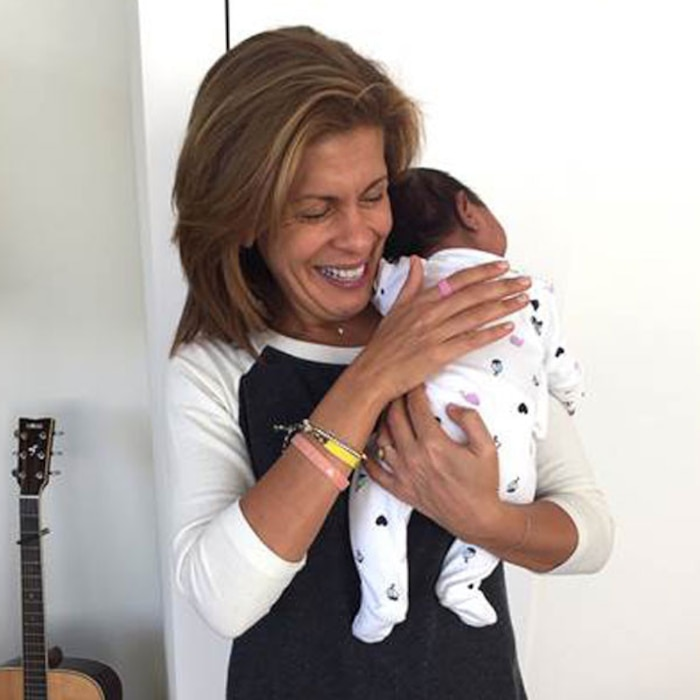 Hoda Kotb, Baby, Adoption