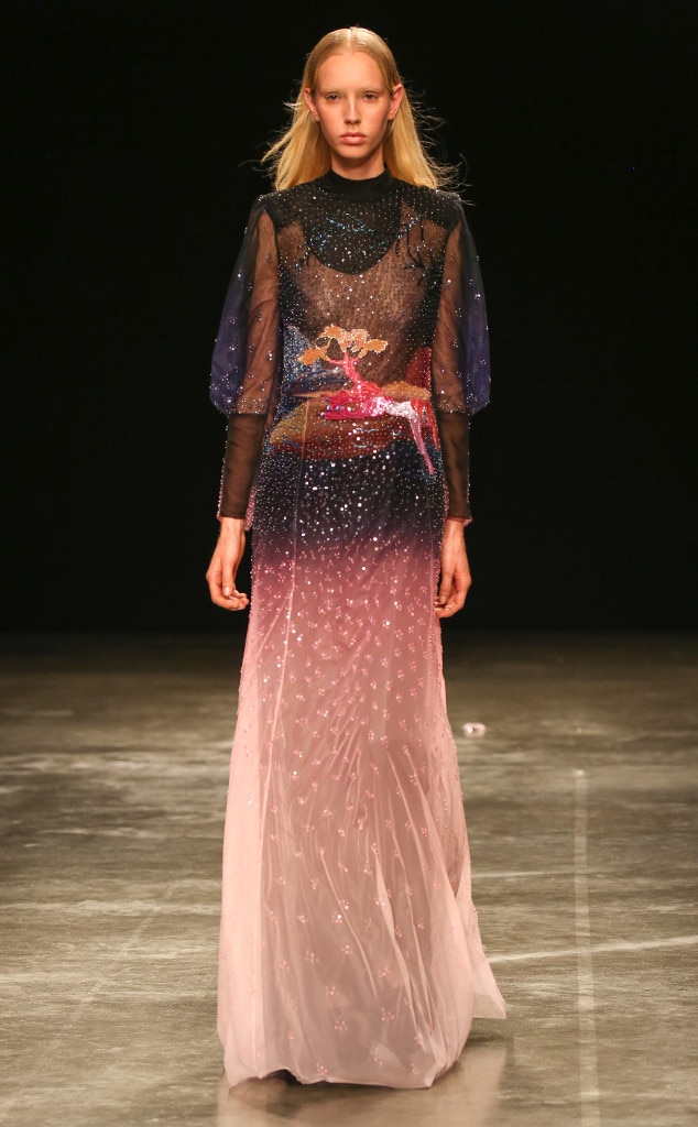 mary katrantzou from best looks from london fashion week