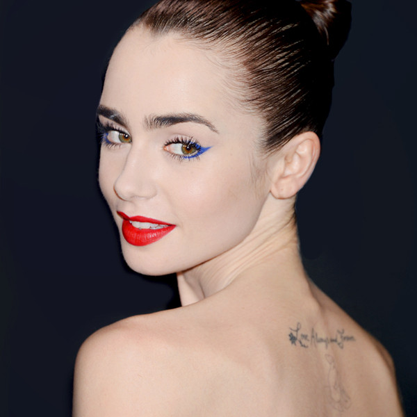 ESC: Eyeliner, Lily Collins