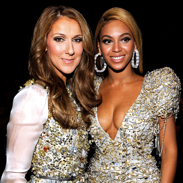 Image result for celine dion and beyonce