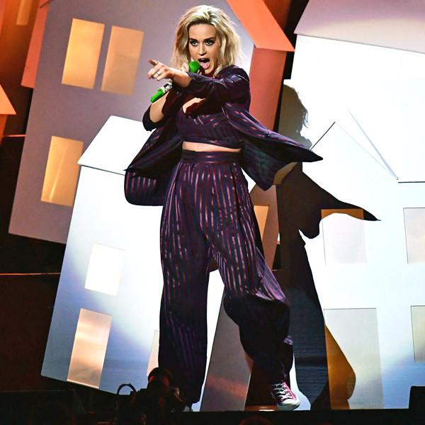 Katy Perry, 2017 BRIT Awards