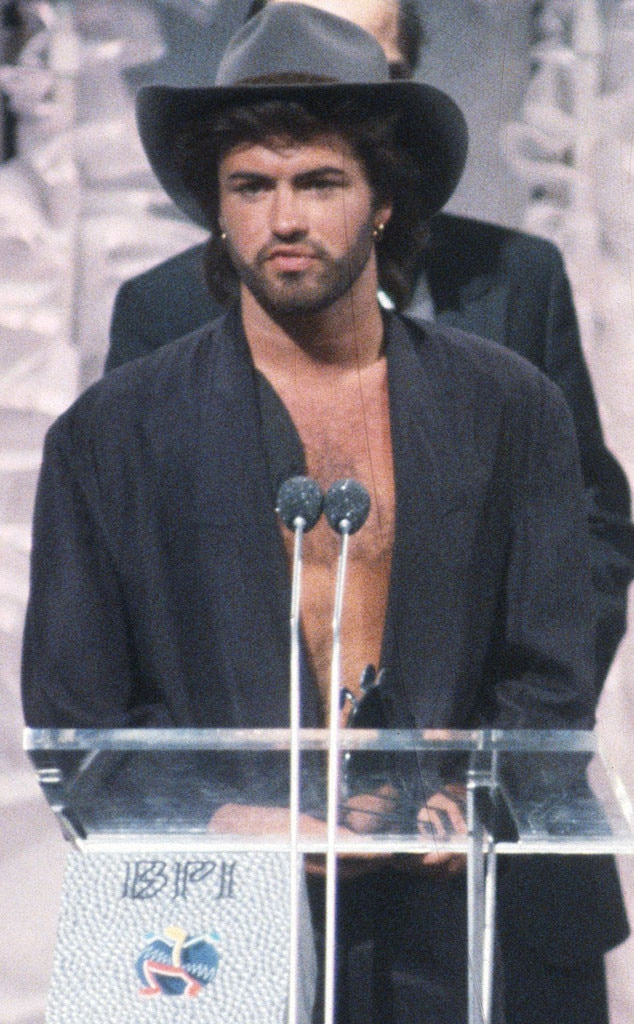 George Michael, Brit Awards, 1986